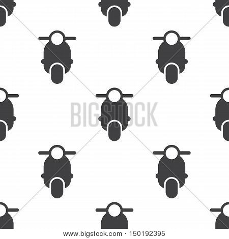 moped icon on white background for web