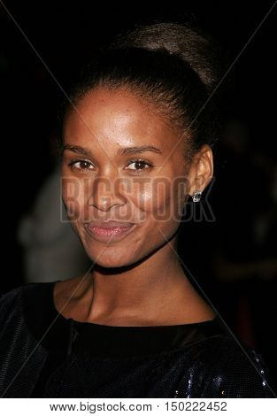 Joy Bryant at the Paramount Pictures' 2007 Golden Globe Award After-Party held at the Beverly Hilton Hotel in Beverly Hills, USA on January 15, 2007.