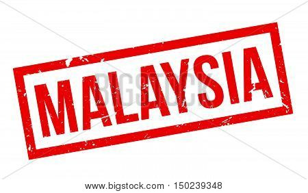 Malaysia Rubber Stamp