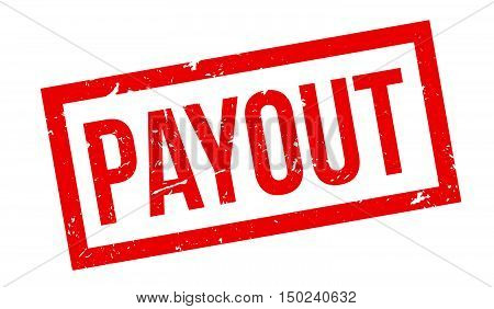 Payout Rubber Stamp