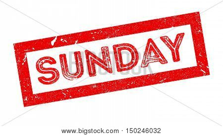 Sunday Rubber Stamp