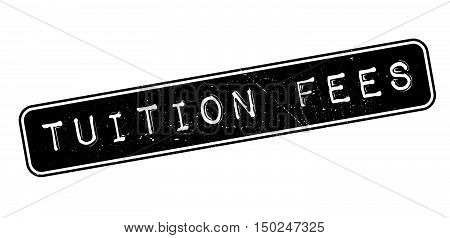 Tuition Fees Rubber Stamp