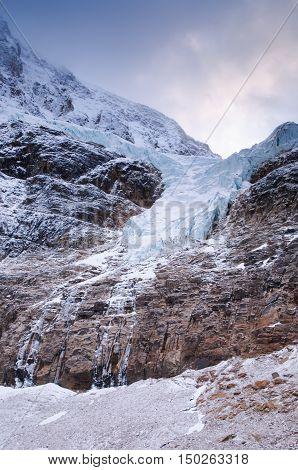 Edith Cavell Glacier Jasper National Park Alberta