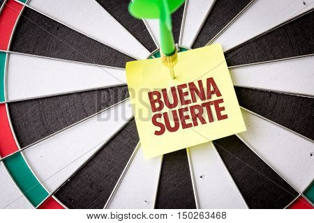 Good Luck (in Spanish)