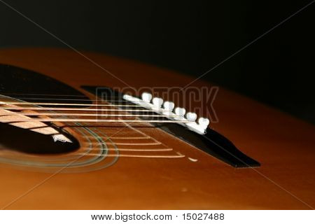 Body of a guitar