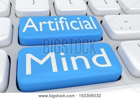 Artificial Mind Concept