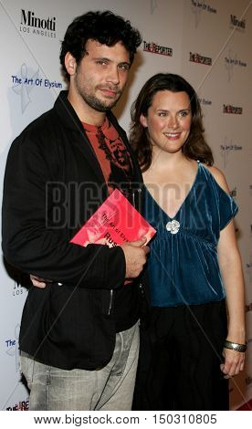 Jeremy Sisto and Jennifer Howell at the Art of Elysium Presents Russel Young 'fame, shame and the realm of possibility' held at the Minotti Los Angeles in West Hollywood, USA on November 30, 2005.