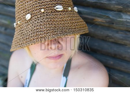 Woman With Sun Hat