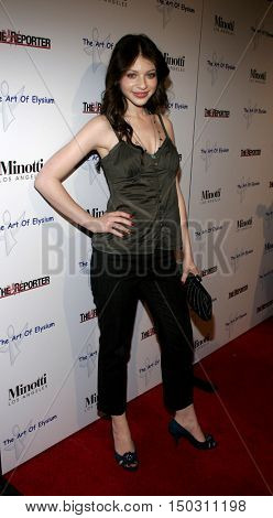 Michelle Trachtenberg at the Art of Elysium Presents Russel Young 'fame, shame and the realm of possibility' held at the Minotti Los Angeles in West Hollywood, USA on November 30, 2005.