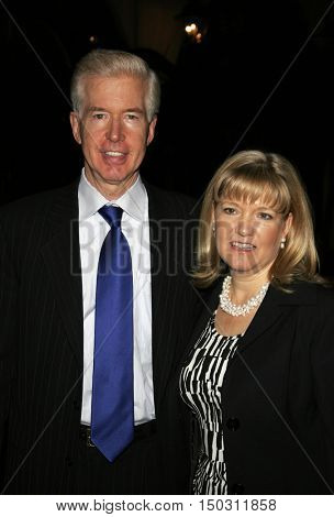 Gray Davis and Sharon Davis at the Los Angeles Free Clinic's 29th Annual Dinner Gala at the Regent Beverly Wilshire in Beverly Hills, USA on November 21, 2005.