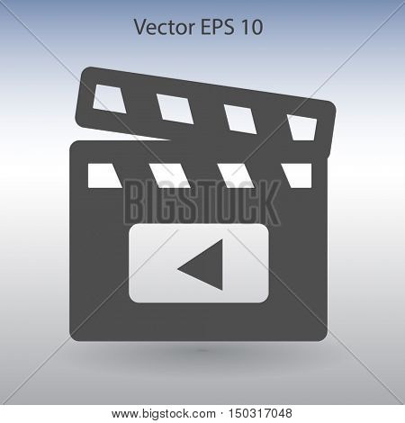 Design double in a movie vector picture