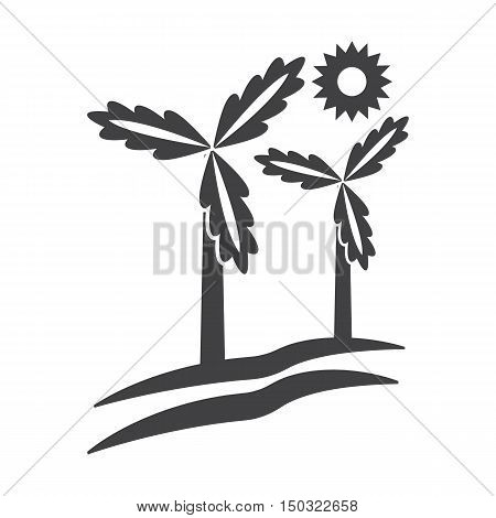 wind generator black simple icon on white background for web design