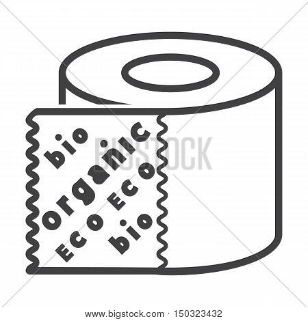 bumf black simple icon on white background for web design