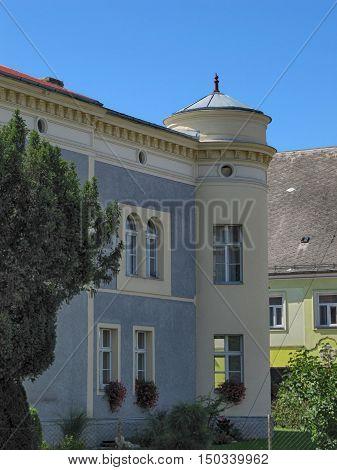 Restored Old Urban House in Javornik Town Olomouc Region Czech Republic