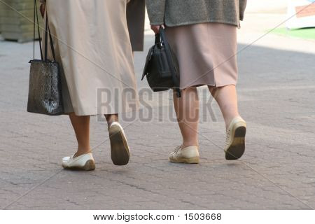Walking Ladies
