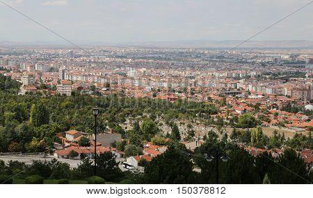 Eskisehir City In Turkey