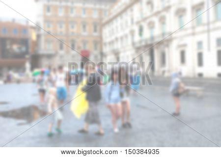 Generic Blurred Urban Background