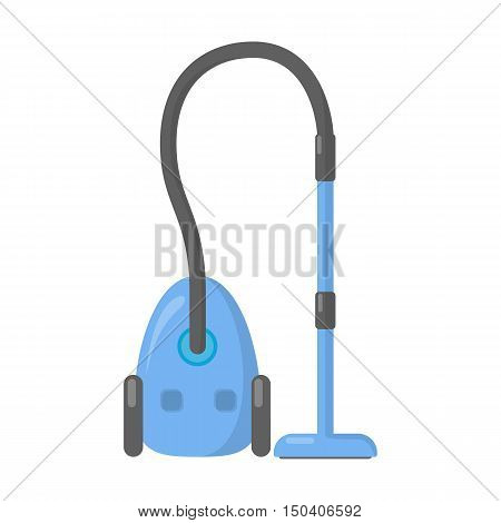 Vacuum cartoon icon. Illustration for web and mobile.