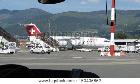 Swiss Airways Aircraft