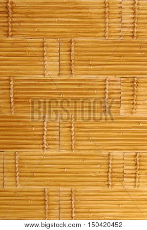 wall pattern of floral ornament, bamboo stalk