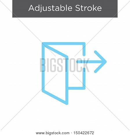 Logout Icon With Arrow