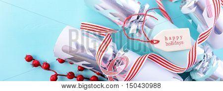 Christmas Crackers Social Media Banner