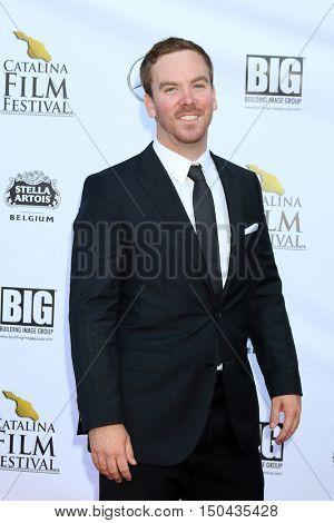 LOS ANGELES - OCT 1:  Spencer Bruttig at the Catalina Film Festival - Saturday at the Casino on October 1, 2016 in Avalon, Catalina Island, CA