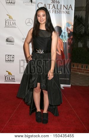 LOS ANGELES - OCT 1:  Sarah Ko, mother at the Catalina Film Festival - Saturday at the Casino on October 1, 2016 in Avalon, Catalina Island, CA