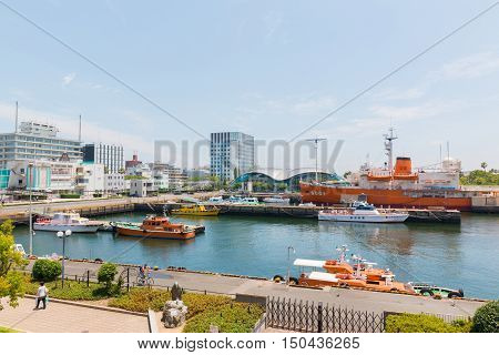 Port Of Nagoya, Located In Ise Bay, Is The Largest And Busiest Trading Port In Japan