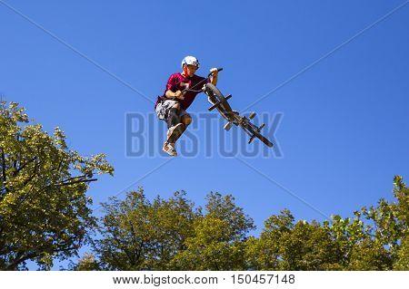 Bike Jump Trees