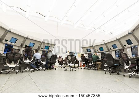 Air Traffic Services Authority Control Center