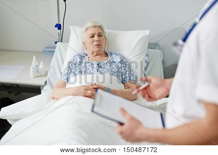 Recovering patient