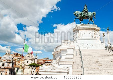 Altar of the Fatherland in Rome - Italy
