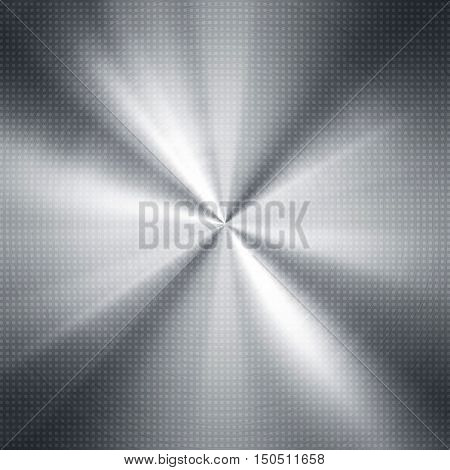 silver metal with rays background