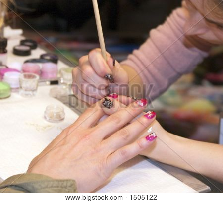 Paintings On Nails