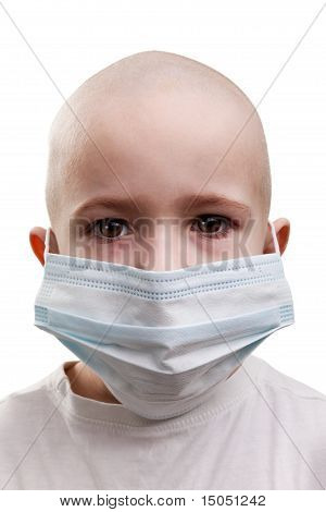 Child In Medicine Mask