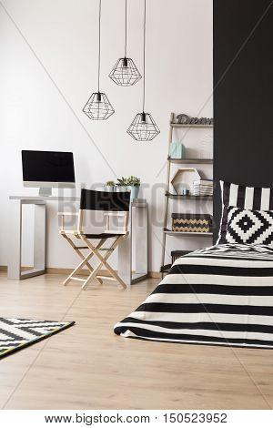 Black And White Home Space Idea