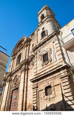 Church of St. Benedetto. Acquaviva delle fonti. Puglia. Southern Italy.