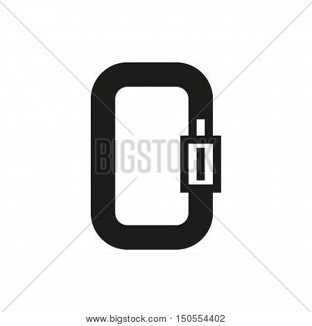 Carbine icon on white background Created For Mobile Web Decor Print Products Applications. Icon isolated. Vector illustration.