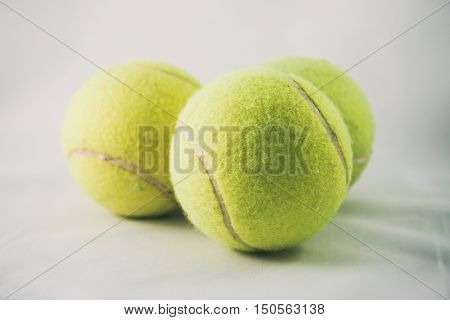 Tennis Ball, Tennis Balls On A White Background