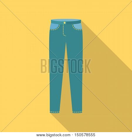 Pants icon of raster illustration for web and mobile design