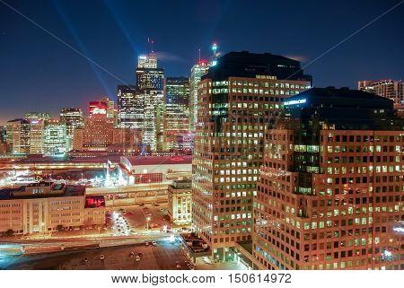 Toronto Downtown Cityscape