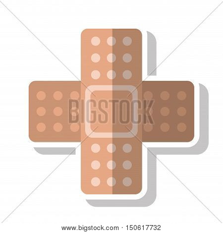 Bandage icon. Medical health care and hospital theme. Isolated design. Vector illustration