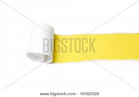 Paper peel