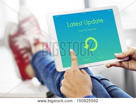 Latest Update Upgrade New Version Concept