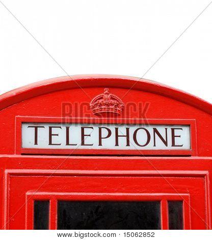 Ac iconic London phone box