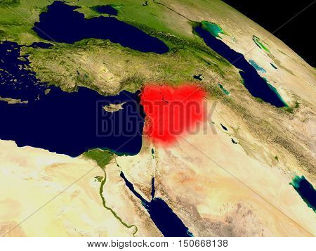 Syria From Space