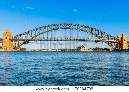 Sydney Harbour Bridge and Sydney Opera House NSW Australia.Oct 07,2016 Sydney Opera House is one of the modern building, well known worldwide