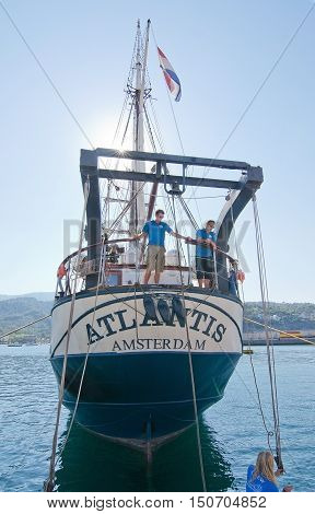 Three Masted Brigg Atlantis