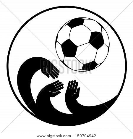 Soccer american football sports football player football field